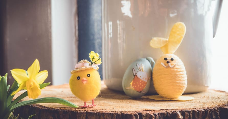 Yggdrasil ønsker påskeferien velkommen med påskeøya 2