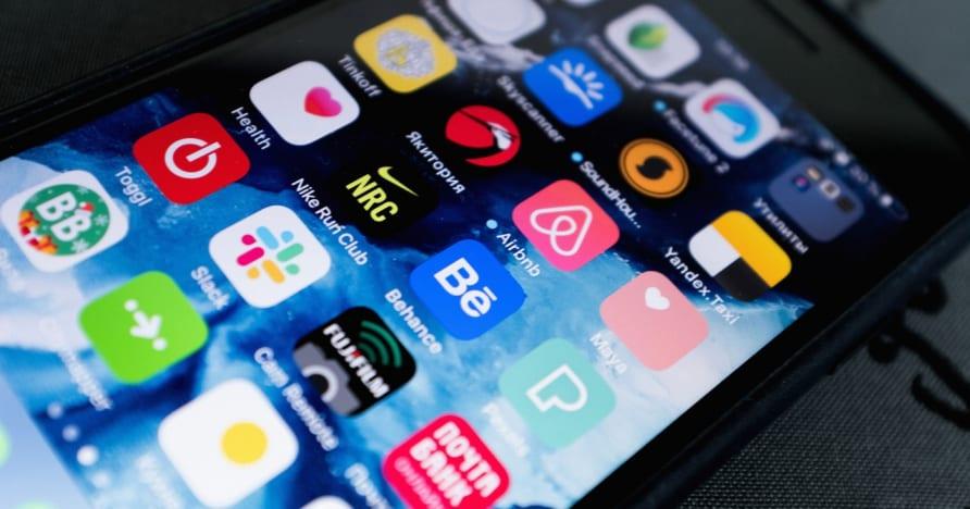 Velge en mobilspilling-app